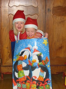 kerstmannetjes als cadeau