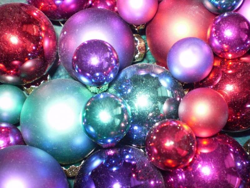 kerstballen opruimen...