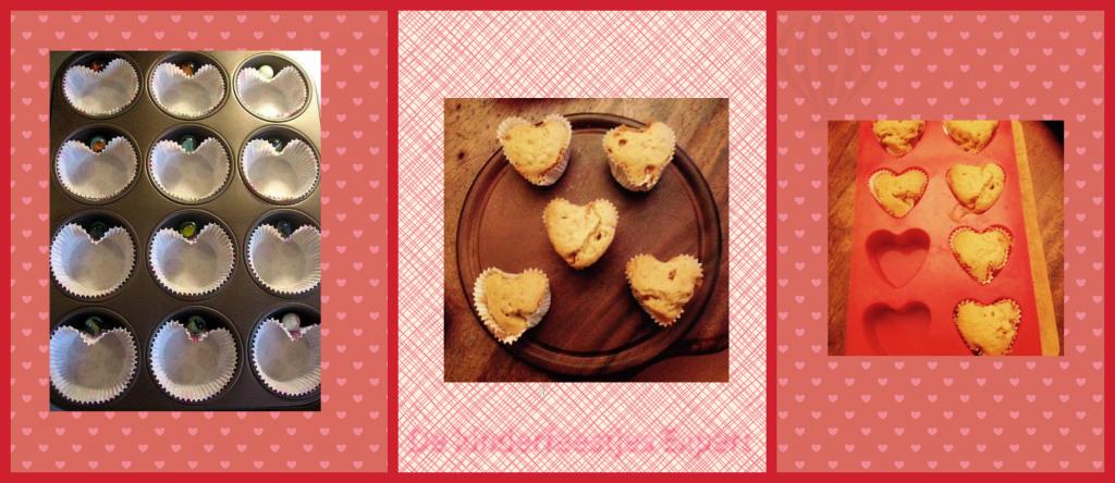 hoe je Hartjes cupcakes maakt
