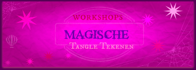 Magische Workshops-Tangle Tekenen