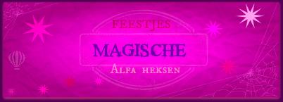 Banner Magische Feestjes Alfa Heksen